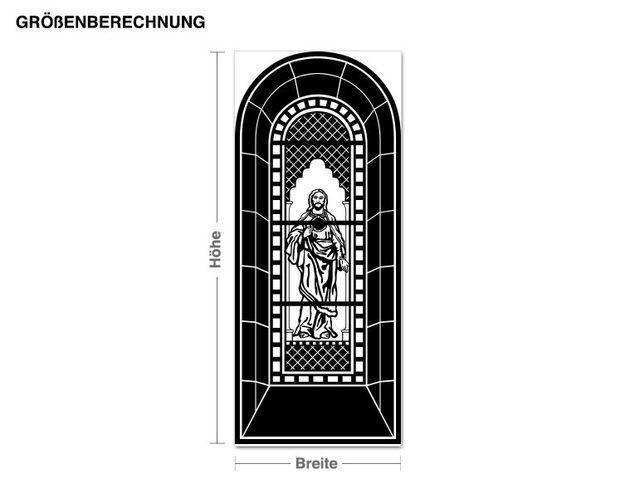 Adesivo murale - finestra della chiesa