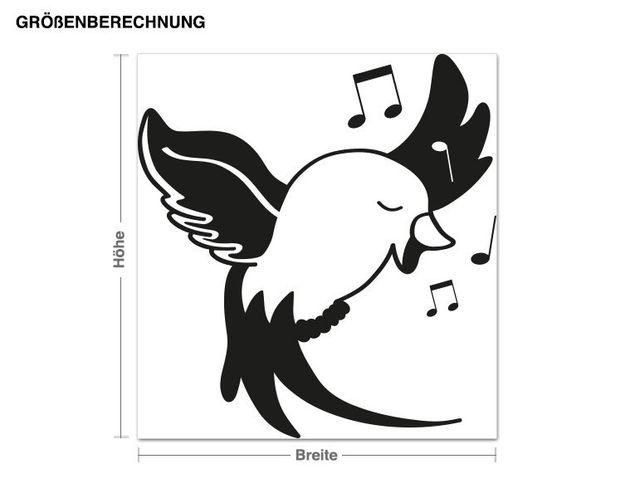 Adesivo murale - uccellino