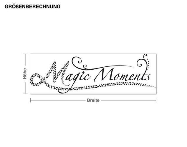 Adesivo murale - magic Moments