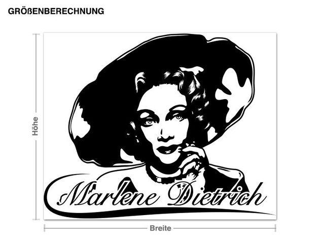 Adesivo murale - Marlene Dietrich