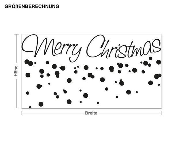 Adesivo murale - Buon Natale