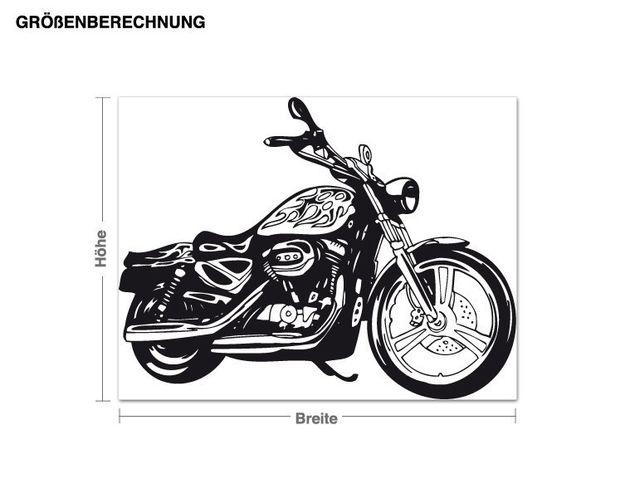 Adesivo murale - Motorrad2