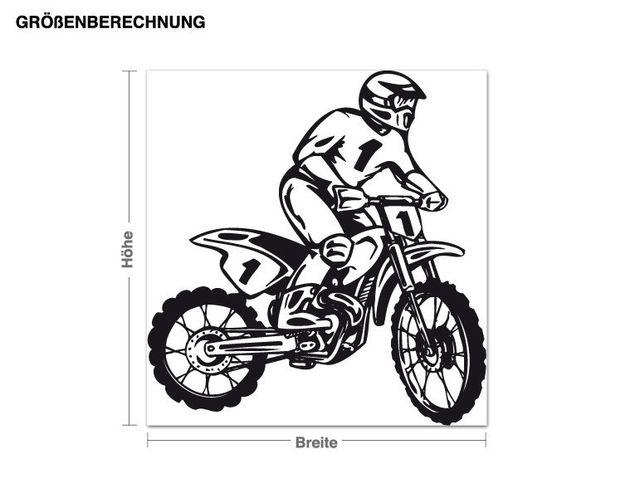 Adesivo murale - sport a motore