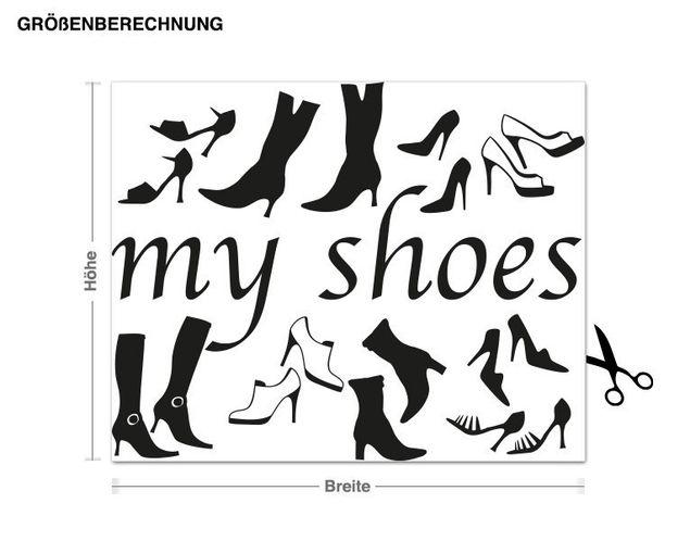 Adesivo murale - My Shoes