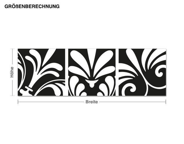 Adesivo murale - disegno ornamentale