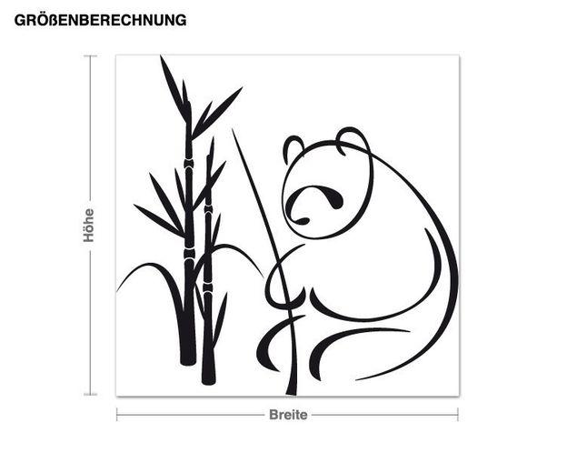 Adesivo murale - panda