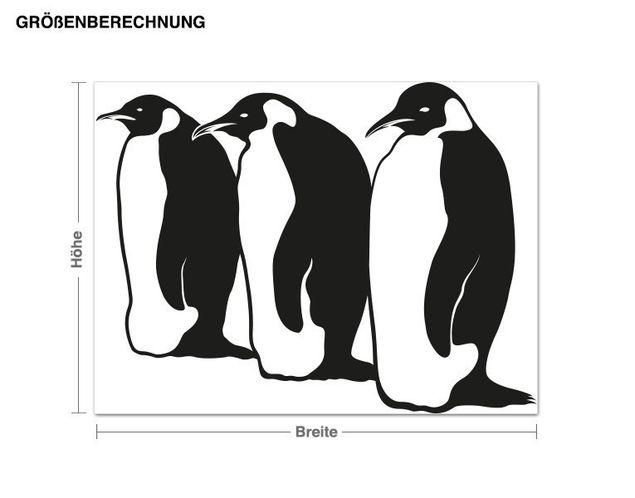 Adesivo murale - pinguini