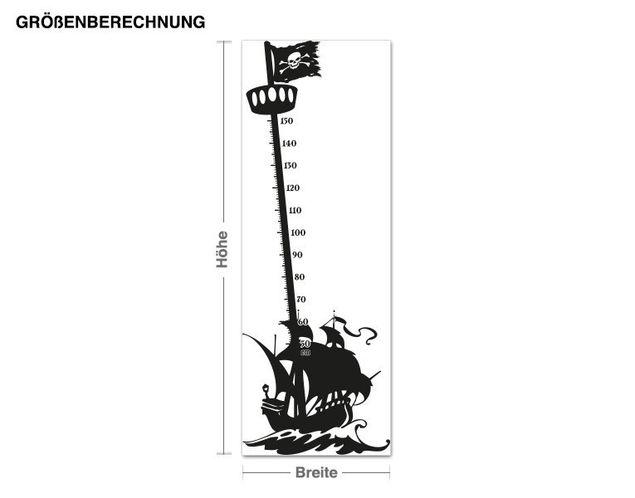 Adesivo murale - pirati mast