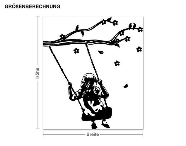 Adesivo murale - swing