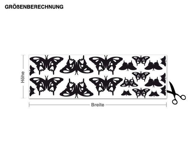 Adesivo murale - farfalle Set