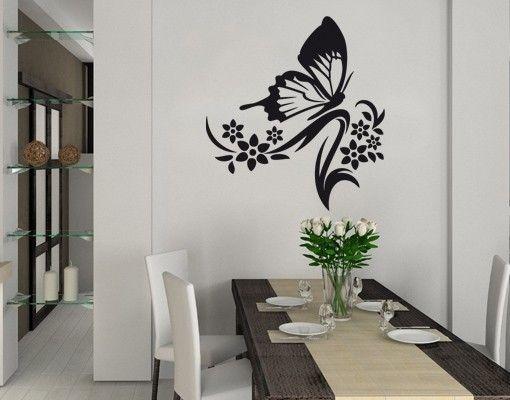 Adesivo murale - farfalla filiale
