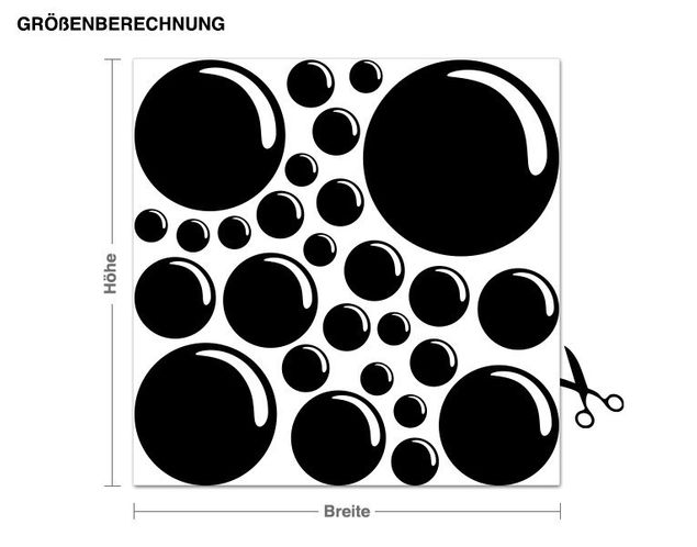 Adesivo murale - Bubble Set