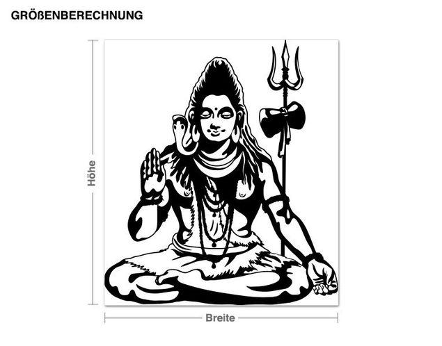 Adesivo murale - Shiva