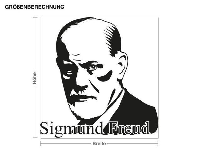 Adesivo murale - Sigmund Freud