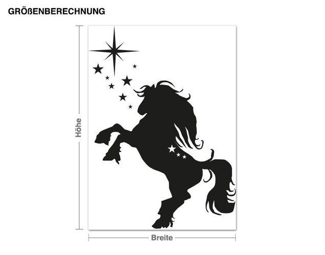 Adesivo murale - Jumping Horse
