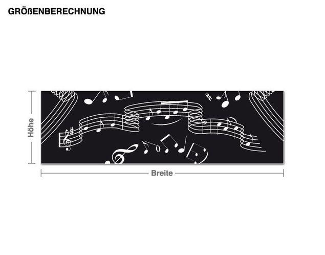 Adesivo murale - musica