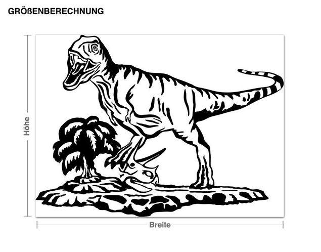 Adesivo murale - Tyrannosaurus