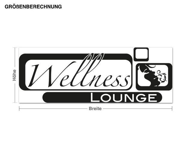 Adesivo murale - salone Wellness