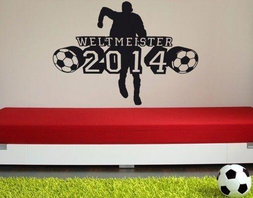 Adesivo murale - Weltmeister2014
