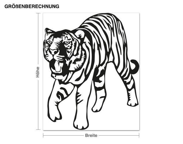 Adesivo murale - Big Wild Cat