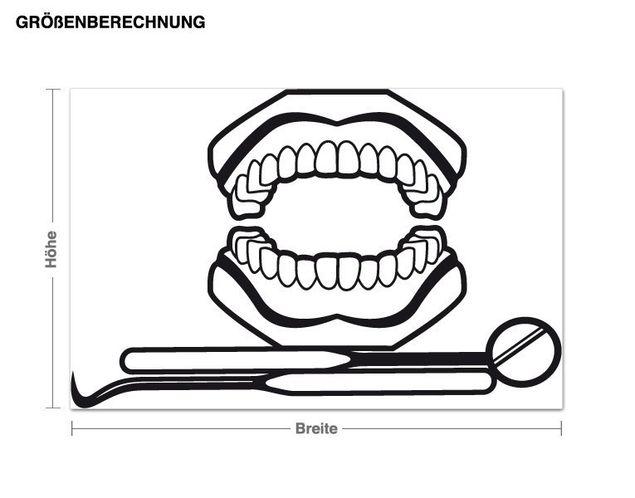 Adesivo murale - dentista