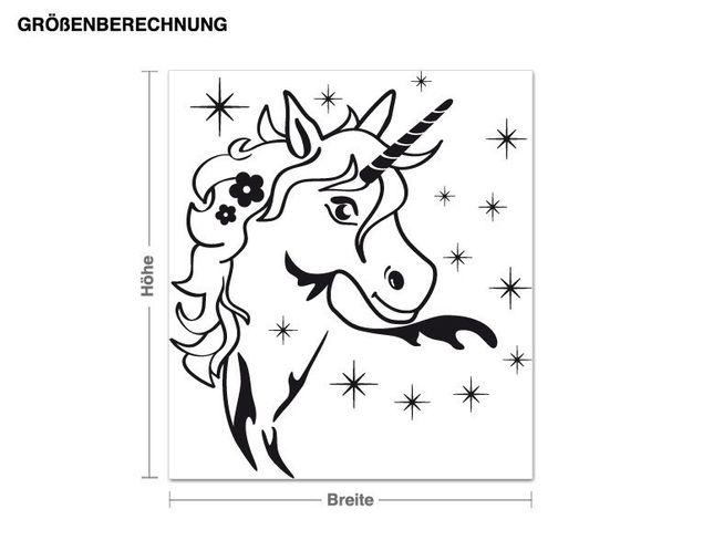 Adesivo murale - magic Unicorn