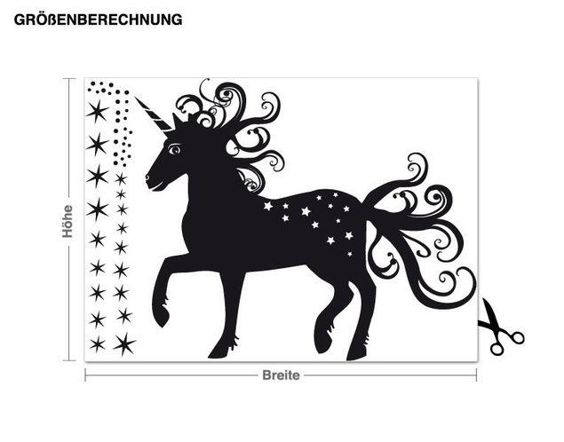 Adesivo murale - magico Unicorno